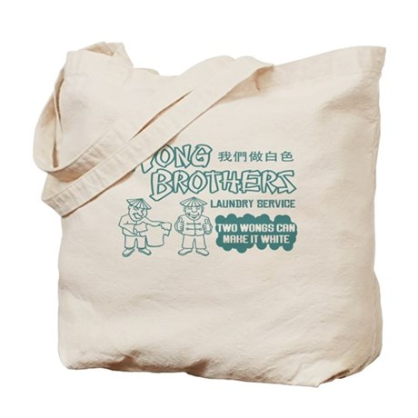 Wong Brothers Laundry Service Tote Bag
