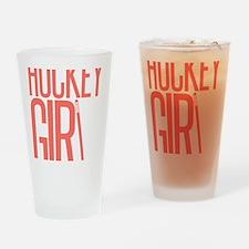 girl2 copy Drinking Glass