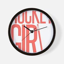 girl2 copy Wall Clock