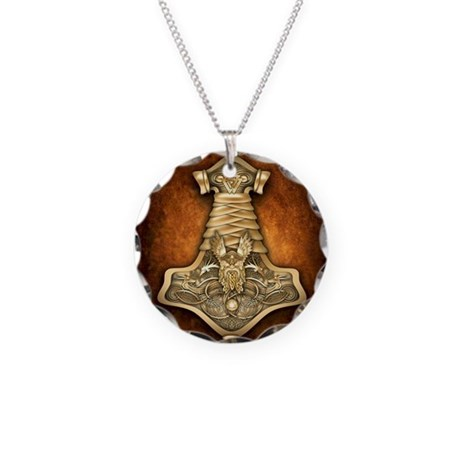 gold thors hammer necklace by admin cp14613691
