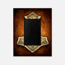 Gold Thors Hammer Picture Frame