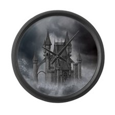 dc2_60_curtains_834_H_F Large Wall Clock