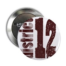 "District 12 Dirty Numbers The Hunger  2.25"" Button"