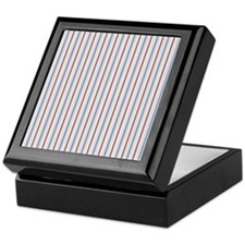 blanket aiyana stripe Keepsake Box