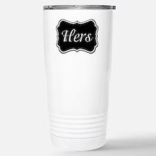 His and Hers Pajamas Travel Mug