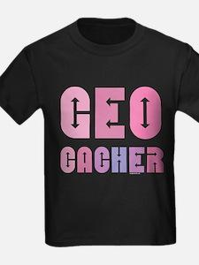 Geocacher Arrows in Pinks T
