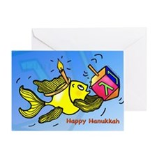 Happy Hanuka Greeting Card
