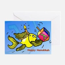 Happy Hanuka Greeting Card