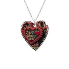 Gingerbread hearts Necklace