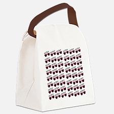 RepeatingSunnies Canvas Lunch Bag