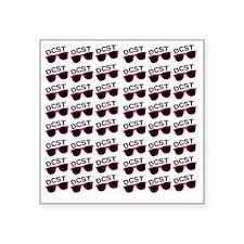 """RepeatingSunnies Square Sticker 3"""" x 3"""""""