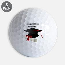 congratulations graduate! Golf Ball