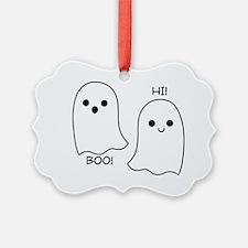 boo! hi! ghosts Ornament
