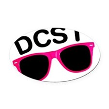 DCST Avatar Oval Car Magnet