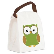 Funky owl Canvas Lunch Bag