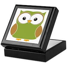 Funky owl Keepsake Box