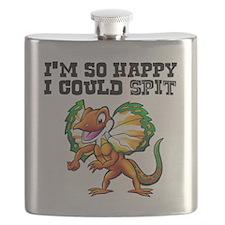 So Happy Spitter Dinosaur Flask
