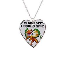 So Happy Spitter Dinosaur Necklace