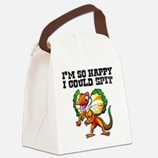 So Happy Spitter Dinosaur Canvas Lunch Bag