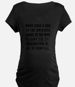 MUSIC GIVES A SOUL TO THE U T-Shirt