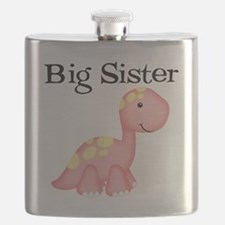 Big Sister Dinosaur Flask