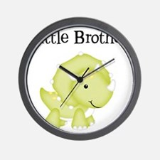 Little Brother Dinosaur Wall Clock