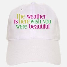 The Weather Baseball Baseball Cap