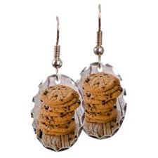 Chocolate chip cookies Earring