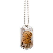 Chocolate chip cookies Dog Tags