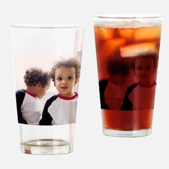 Identical twin boys Drinking Glass