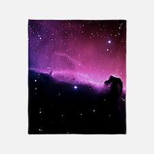 Horsehead Nebula Throw Blanket