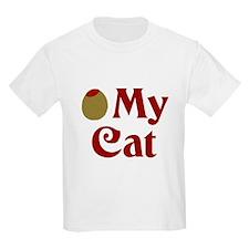 Olive My Cat Kids T-Shirt