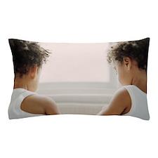 Identical twin boys Pillow Case
