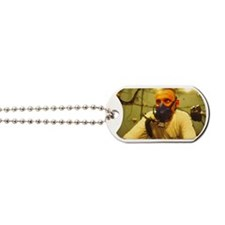 Hyperbaric training research Dog Tags