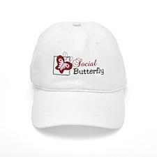 Social Butterfly Baseball Cap