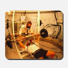 Hyperbaric training research Mousepad