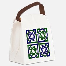 Celtic Knot Squared Canvas Lunch Bag