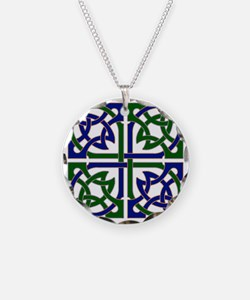 Celtic Knot Squared Necklace