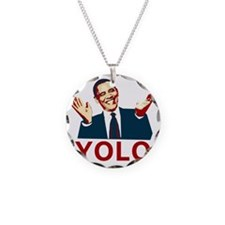Obama YOLO Necklace