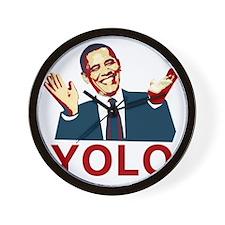 Obama YOLO Wall Clock