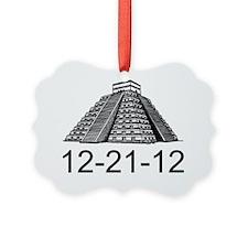 2012 Mayan apocalypse 12-21-2012  Ornament