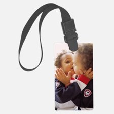 Identical twin boys Luggage Tag