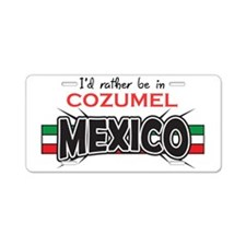 Cozumel Mexico Aluminum License Plate