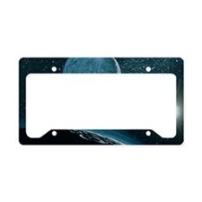 Illustration of Pluto License Plate Holder