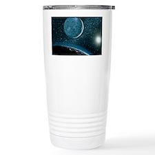 Illustration of Pluto Travel Mug