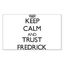 Keep Calm and TRUST Fredrick Decal