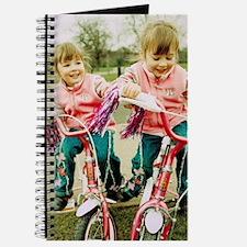 Identical twin girls Journal