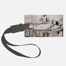Illustration of 19th-century sur Luggage Tag