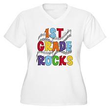 Bright Colors 1st Grade T-Shirt