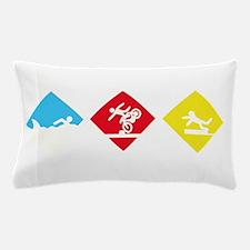 Triathlete Pillow Case